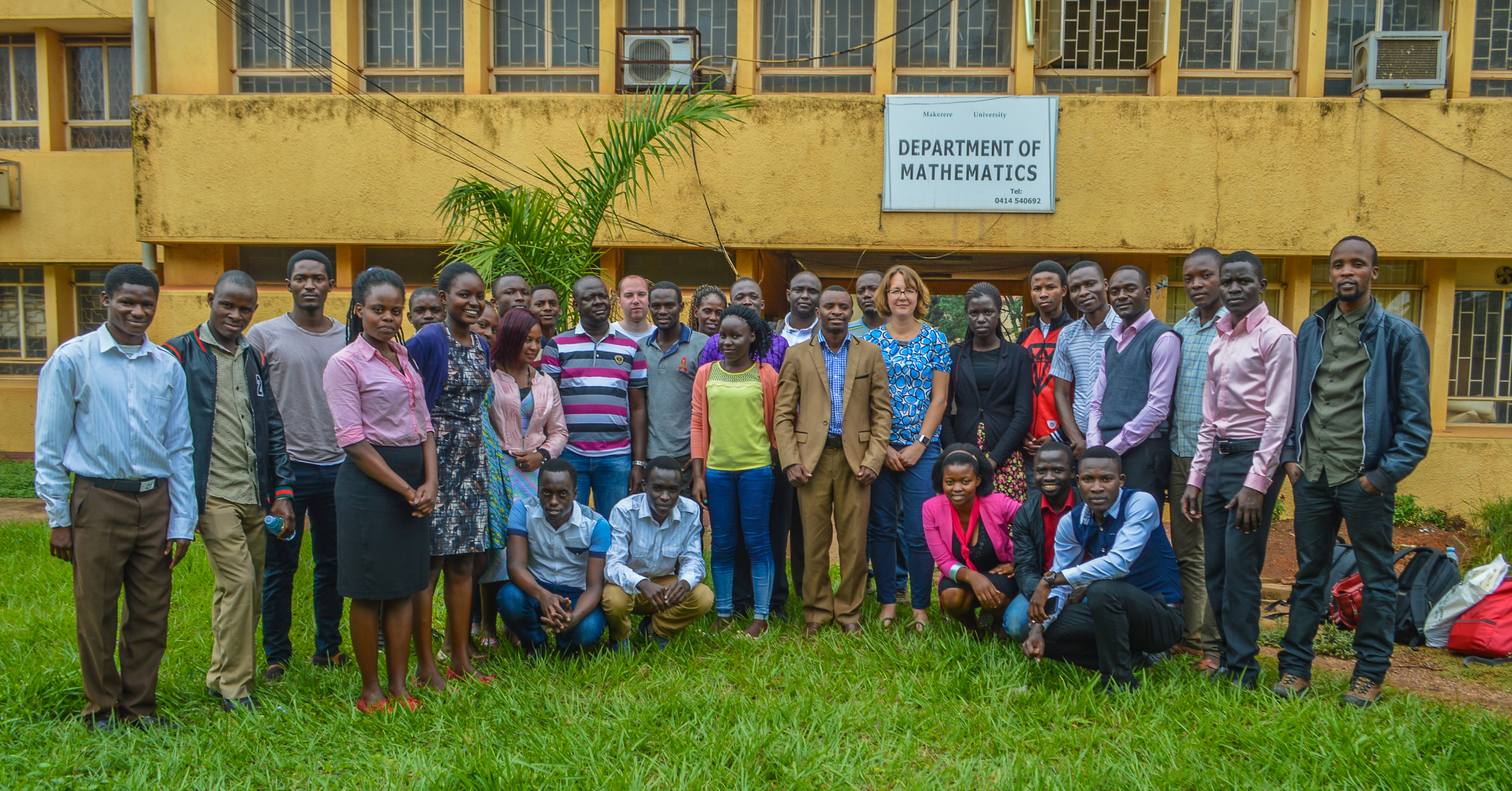 Workshop in Uganda explores new data